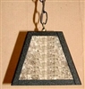 Rustic Pendant Swag Light- Blank Design