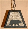 Pendant Swag Light- Bear Design