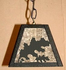 Pendant Swag Light- Oak Leaf Design