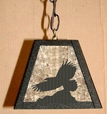 Pendant Swag Light- Eagle Design