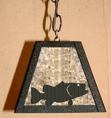 Rustic Pendant Swag Light- Bass Design