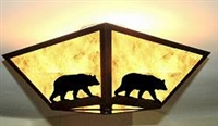 Square Ceiling Light - Bear Design