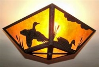 Square Ceiling Light- Duck Design