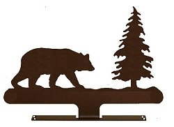 Mailbox Top- Bear with Tree Design