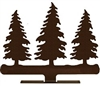 Mailbox Top- Pine Tree Design