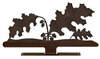 Mailbox Top- Oak Leaf Design