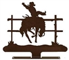 Mailbox Top- Bucking Bronco Design