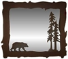 Big Horizontal Mirror- Bear Design