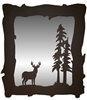 Mirror- Deer Design