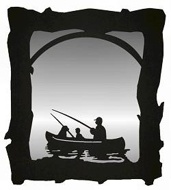 Mirror- Fisherman Design