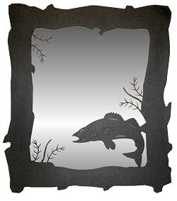 Vertical Mirror- Walleye Design