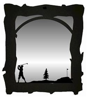 Mirror- Golfer Design