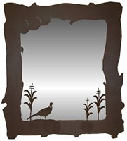 Mirror- Pheasant Design