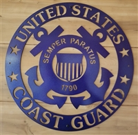 Military Sign - Coast Guard