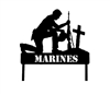 Military Soldier Stake- Marines