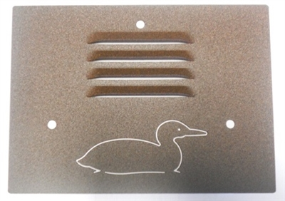 Outdoor Step Light Cover- Loon Design