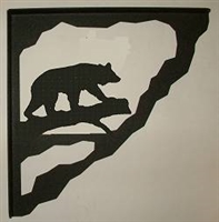 Porch Bracket - Bear Design