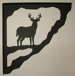 Porch Bracket - Deer Design