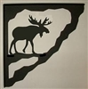 Porch Bracket - Moose Design