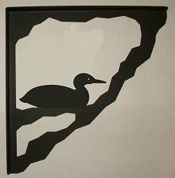Porch Bracket - Loon Design