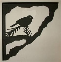 Porch Bracket - Chickadee Design