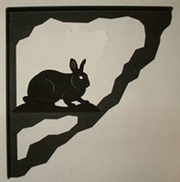 Porch Bracket - Rabbit Design