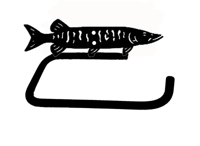 Holder Bar- Muskie Design