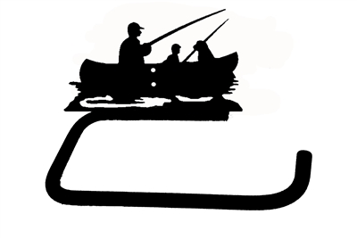 Holder Bar- Fisherman Design