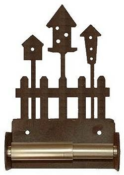 TP Holder with Spring Type Bar - Birdhouse Designs
