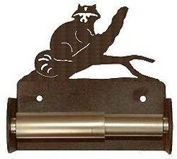 TP Holder with Spring Type Bar - Raccoon Designs
