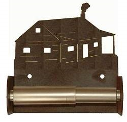TP Holder with Spring Type Bar - Cabin  Designs