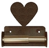 TP Holder with Spring Type Bar - Heart Designs