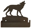 One Piece Toilet Paper Holder - Wolf Design