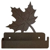 One Piece Toilet Paper Holder - Maple Leaf Design