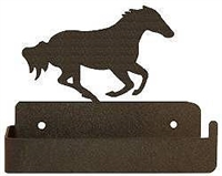 One Piece Toilet Paper Holder -Galloping Horse Design