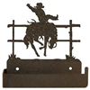 One Piece Toilet Paper Holder - Bucking Bronco Design
