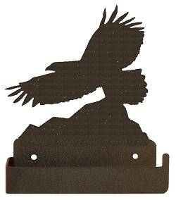 One Piece Toilet Paper Holder - Eagle Design