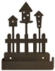 One Piece Toilet Paper Holder - Birdhouse Design