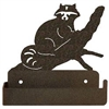 One Piece Toilet Paper Holder - Raccoon Design