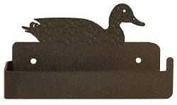 One Piece Toilet Paper Holder - Duck  Design