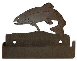 One Piece Toilet Paper Holder - Trout Design