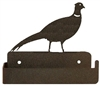 One Piece Toilet Paper Holder - Pheasant Design