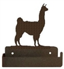 One Piece Toilet Paper Holder - Llama Design