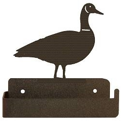 One Piece Toilet Paper Holder - Goose Design
