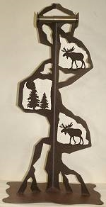 Toilet Paper Stand - Moose Design