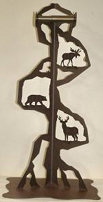 Toilet Paper Stand - Moose, Bear, Deer Design