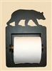 Recessed Toilet Paper Holder- Bear Design
