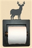 Recessed Toilet Paper Holder- Deer Design