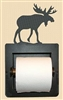 Recessed Toilet Paper Holder- Moose Design