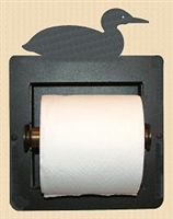 Recessed Toilet Paper Holder- Loon Design